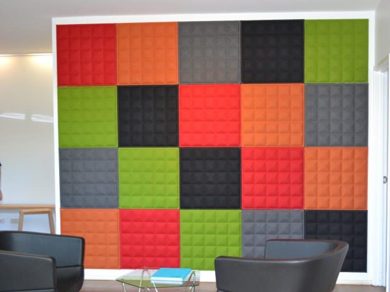 Sound absorbing wall tiles BUZZI TILE 3D - BuzziSpace