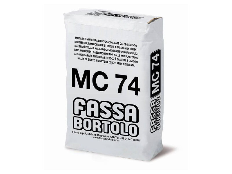 Mortar for masonry MC 74 - FASSA