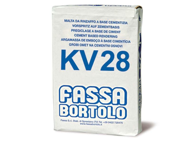 Skim coat and cementitious finish for plaster KV 28 - FASSA