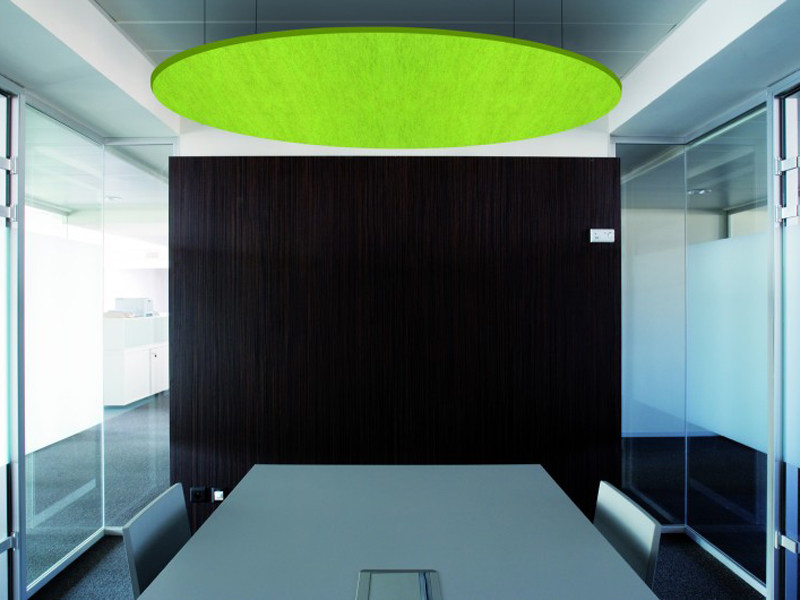 Acoustic ceiling clouds BUZZILAND by BuzziSpace