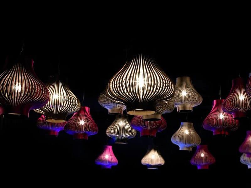 Felt pendant lamp BUZZILIGHT   Pendant lamp - BuzziSpace