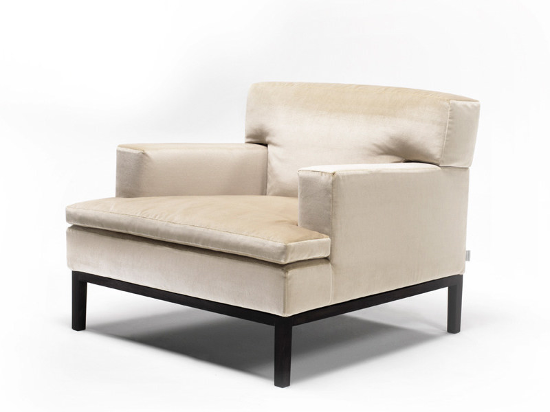 Upholstered armchair with armrests MARQUISE - Living Divani
