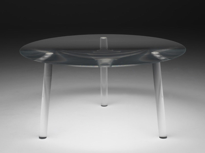 Round plexiglass table DROP TABLE - Living Divani