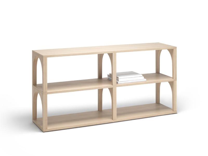 Oak bookcase PORTICO | Bookcase - Living Divani