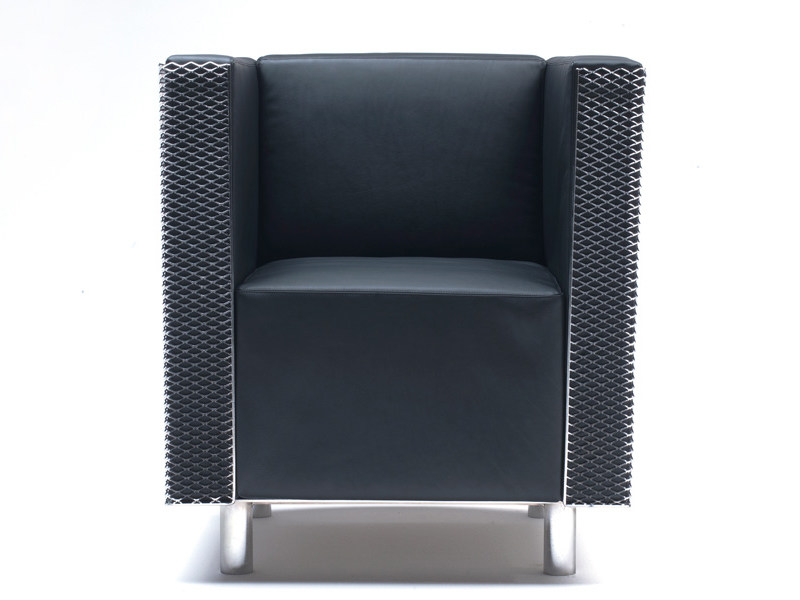 Upholstered armchair LOUNGE CHAIR FOR BRIDGESTONE - Living Divani