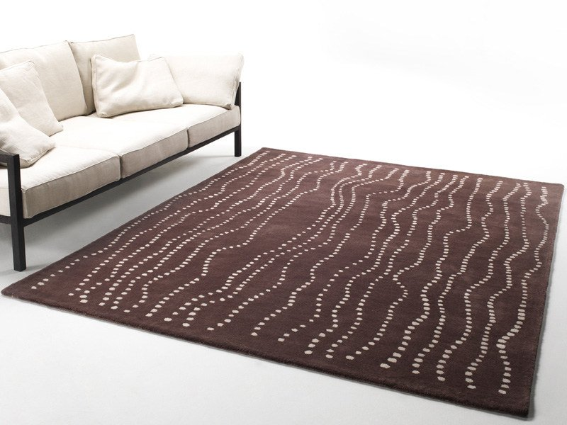 Wool rug GROWING POINTS - Living Divani