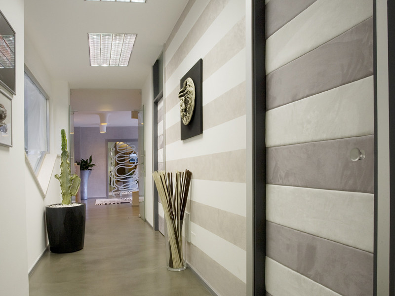 Sound absorbing wooden wall tiles FASTENERS | Wooden wall tiles - FASTENERS PELOSATO