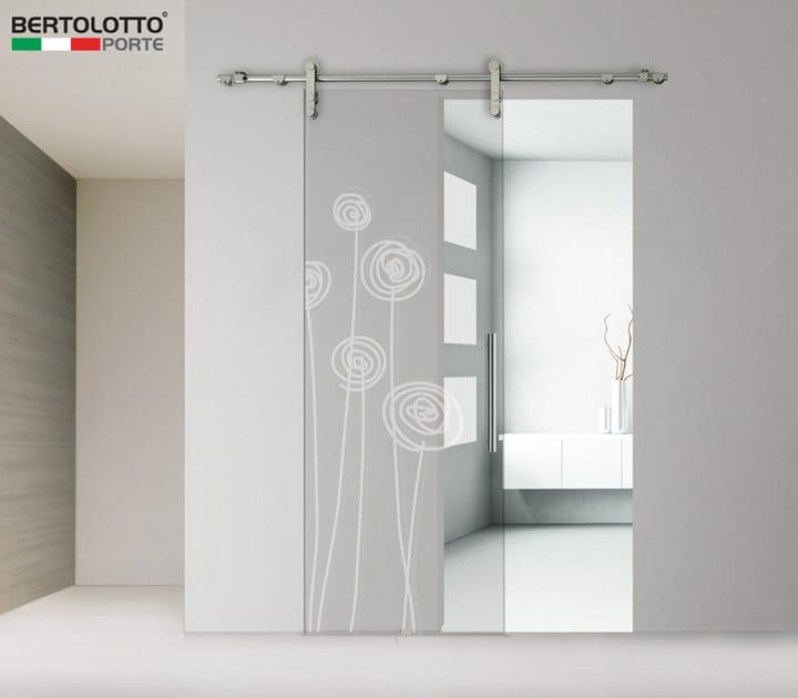 Porta scorrevole in vetro senza telaio 3245 decoro soffi - Aspiratore bagno senza uscita esterna ...