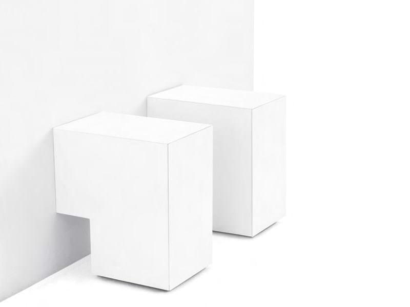 Lacquered MDF storage unit FORMOSA ACCUCCIATA by Opinion Ciatti