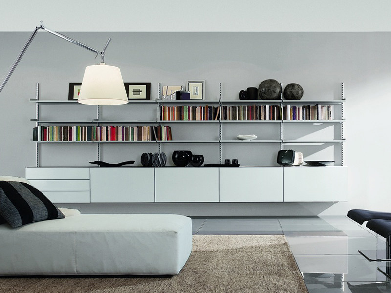 Open wall-mounted bookcase PICÀ MINUS Z043 - Zalf