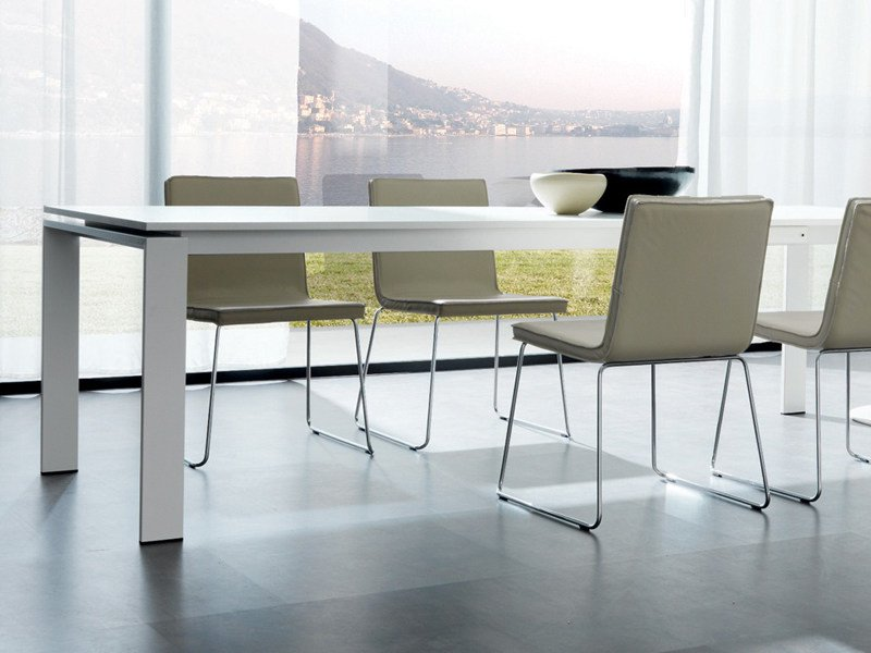 Table ANGOLO ALL by Zalf