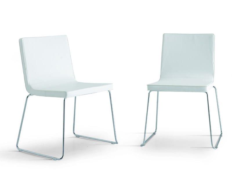 Sled base chair ELLE - Zalf