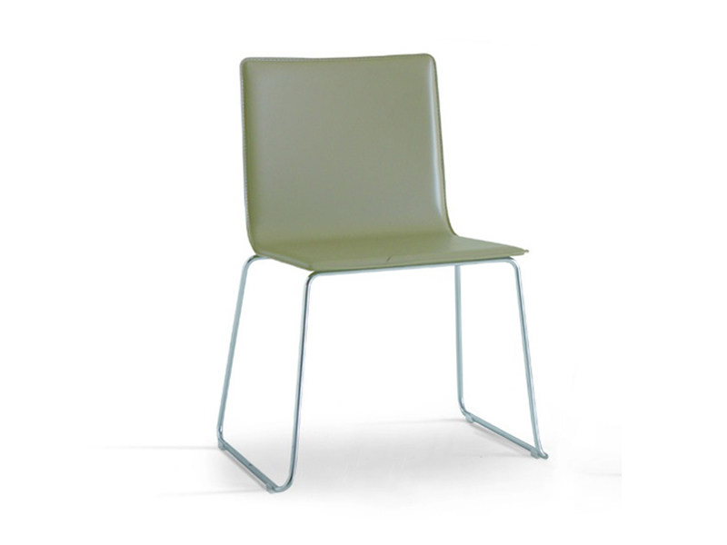 Sled base chair SLIM - Zalf