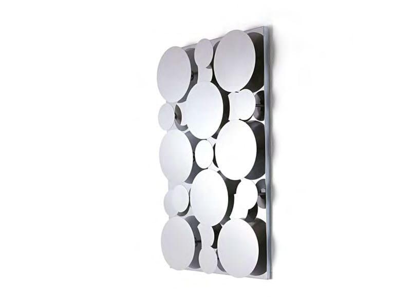 Rectangular wall-mounted mirror GAGÀ | Mirror - Opinion Ciatti