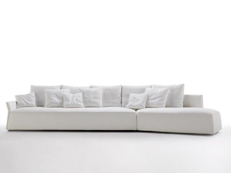 Leather sofa SELA' - Désirée