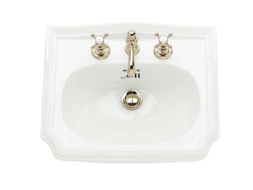 Inset porcelain washbasin BALASANI | Inset washbasin - GENTRY HOME
