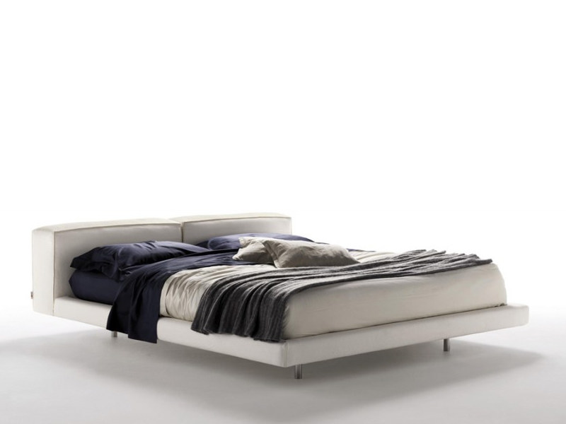 Upholstered double bed ZENIT | Bed by Désirée divani
