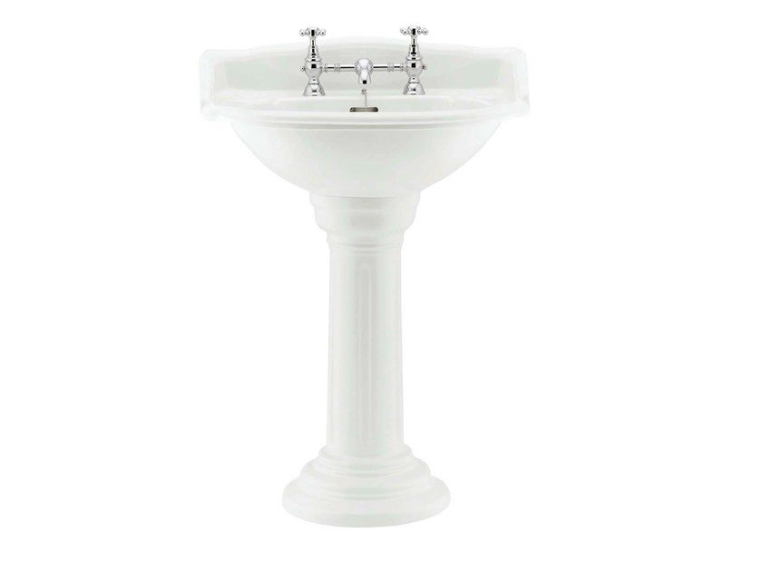 Pedestal washbasin BELGRAVIA | Pedestal washbasin by GENTRY HOME