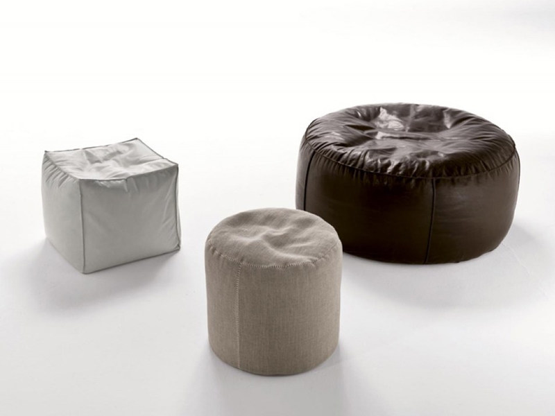 Upholstered pouf EASY | Pouf - Désirée