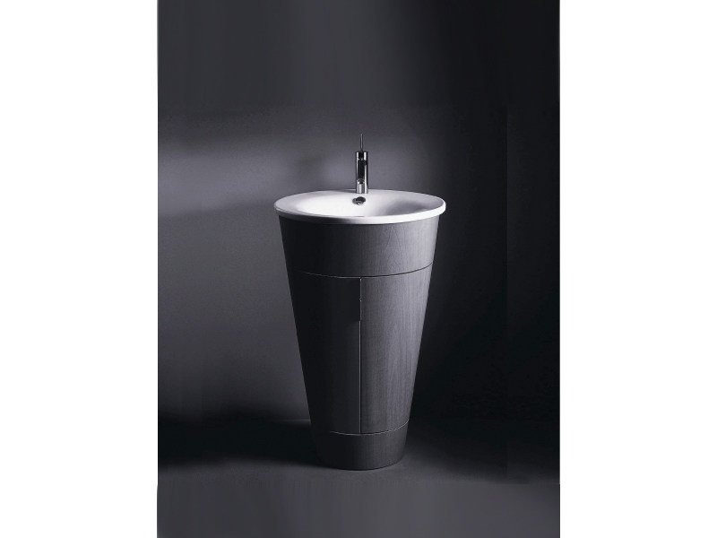 lavabo rotondo in ceramica starck 1 lavabo duravit. Black Bedroom Furniture Sets. Home Design Ideas