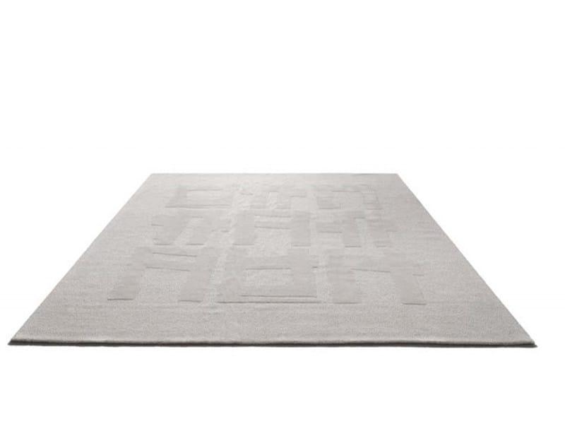 Wool rug GESTO CONTROLLATO - Désirée