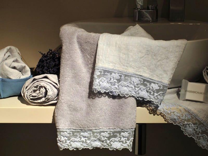 Linen bath Towel CORALLI | Bath Towel - LA FABBRICA DEL LINO by Bergianti & Pagliani