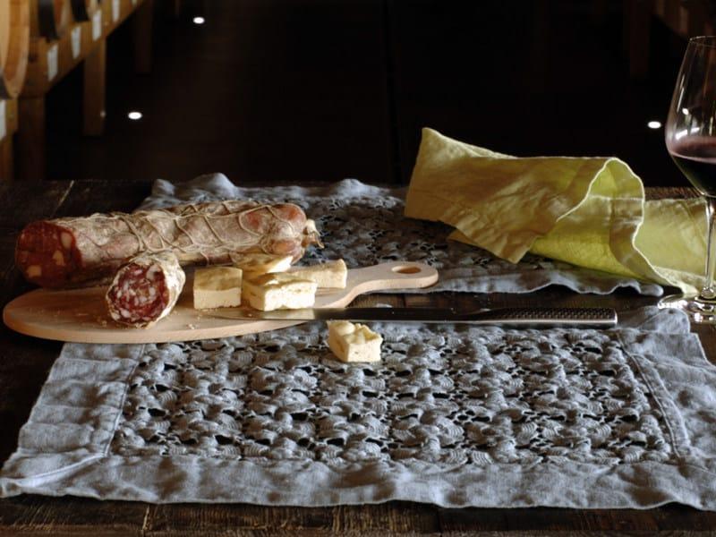 Linen placemat MARGHERITE | Placemat - LA FABBRICA DEL LINO by Bergianti & Pagliani