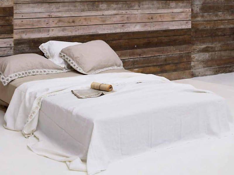 Peonie coordinato letto by la fabbrica del lino by bergianti pagliani - La fabbrica del lino letto ...
