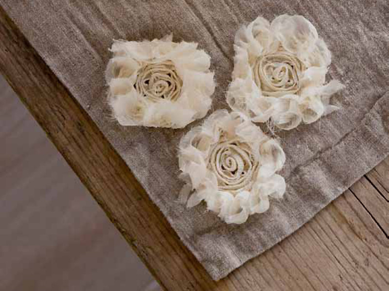 Linen placemat PEONIE | Placemat by LA FABBRICA DEL LINO
