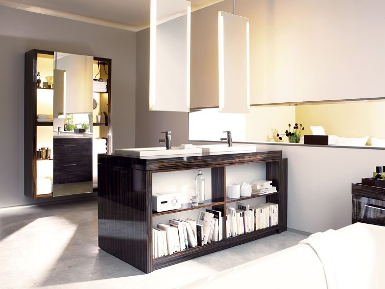 Wooden bathroom cabinet 2ndFLOOR - DURAVIT