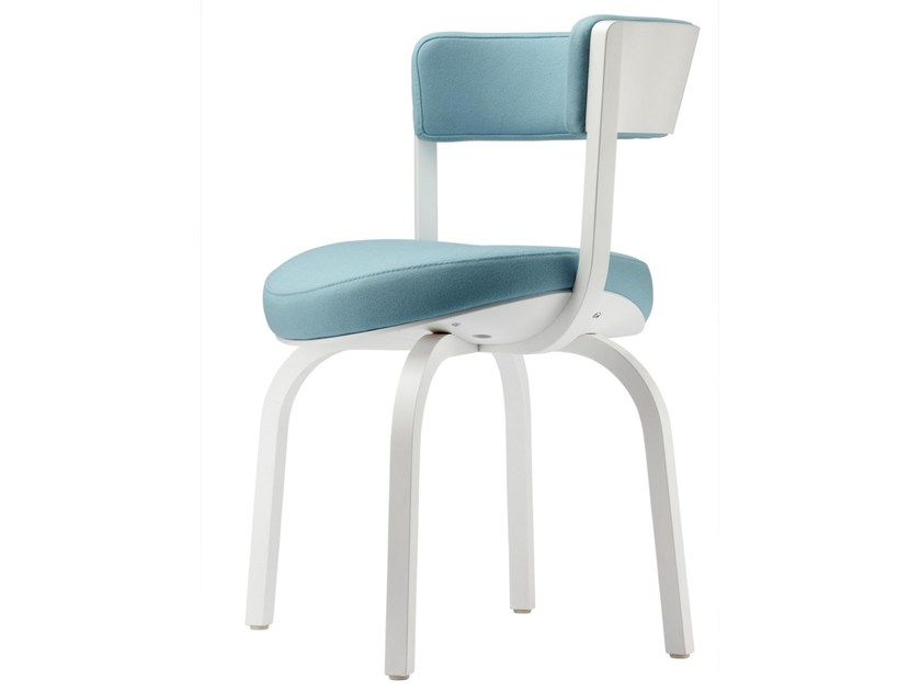 Upholstered wooden chair 405PF | Chair - THONET