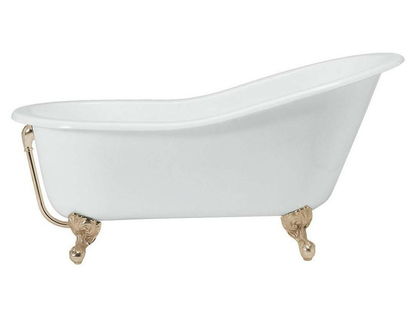 Classic style cast iron bathtub on legs JASMINE by GENTRY HOME