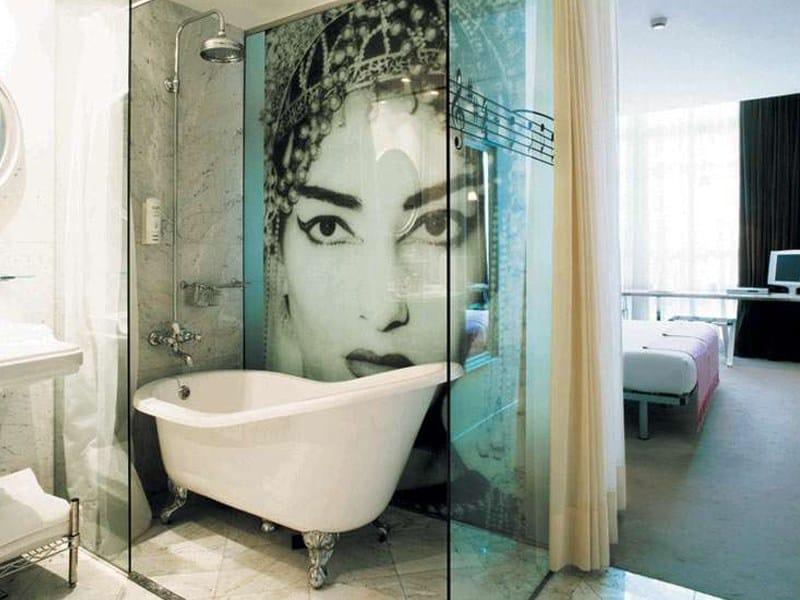 Vasca da bagno in ghisa in stile classico su piedi jasmine - Vasca da bagno piedini ...