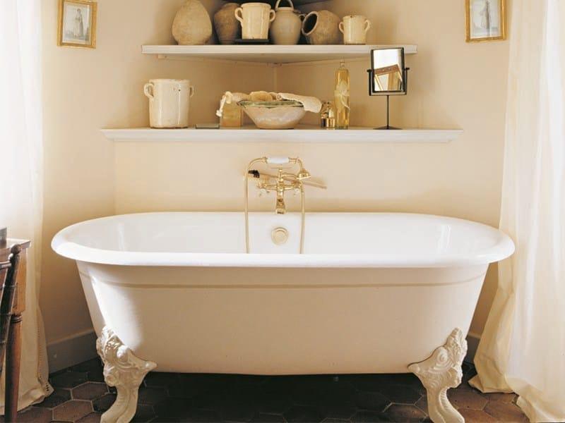 Vasca da bagno in ghisa su piedi cleo gentry home - Vasca da bagno in ghisa ...