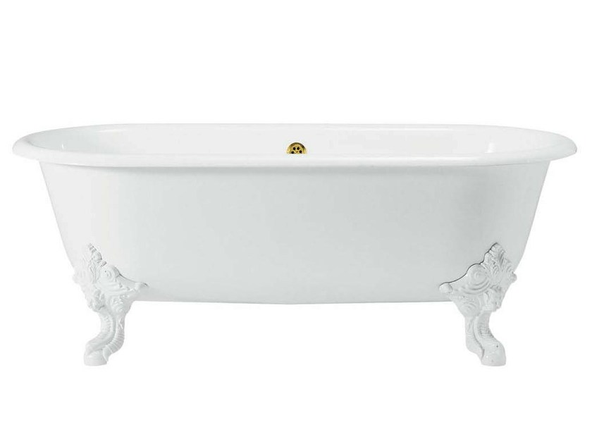Cast iron bathtub on legs CLEO - GENTRY HOME