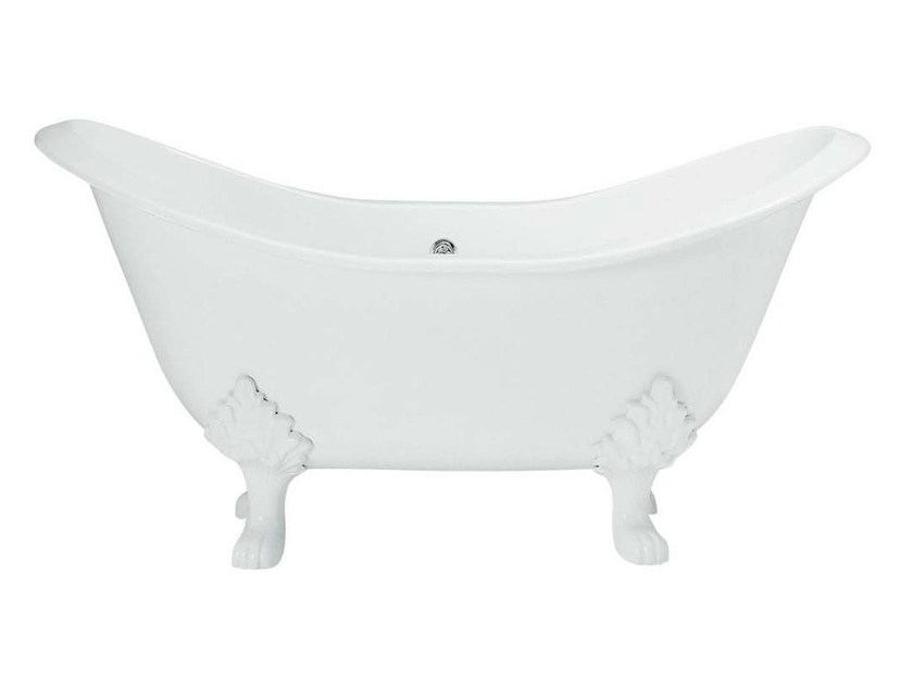 Classic style cast iron bathtub on legs TULIP by GENTRY HOME
