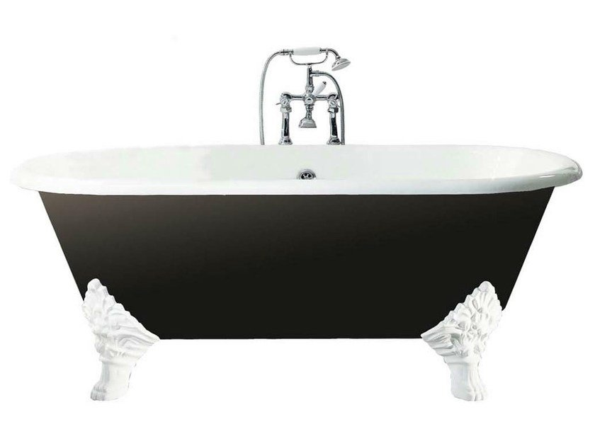 Cast iron bathtub on legs CARLTON - GENTRY HOME