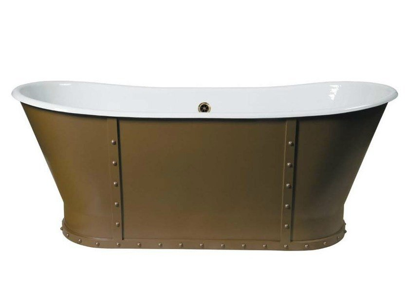 Freestanding cast iron bathtub EIFFEL - GENTRY HOME