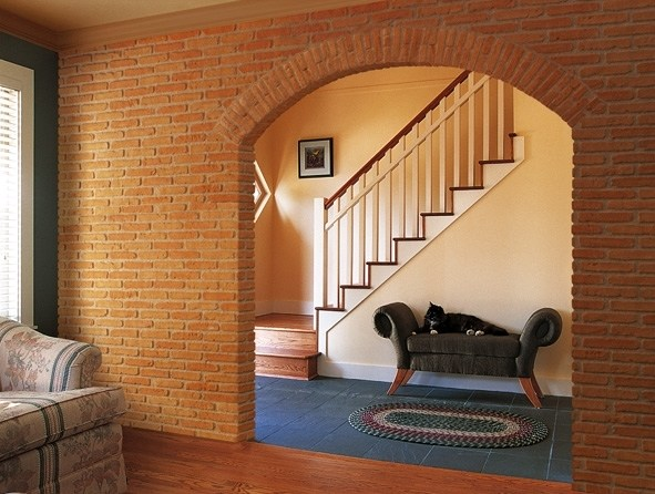Rivestimento in vetroresina effetto mattone o pietra total for Mattoni finti per interni