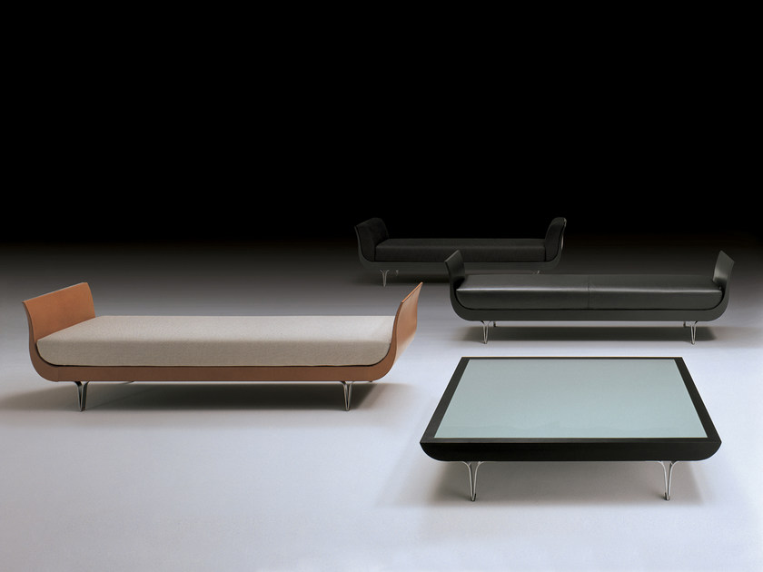 Low wooden coffee table BRERA | Coffee table by i 4 Mariani
