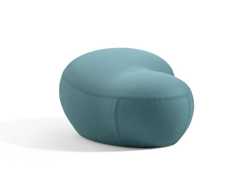 Fabric pouf / footstool PUPPA By Blå Station design Stefan ...