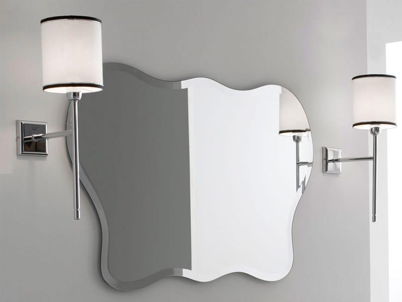 Specchio bagno stondato collezione specchi by gentry home - Specchi bagno milano ...