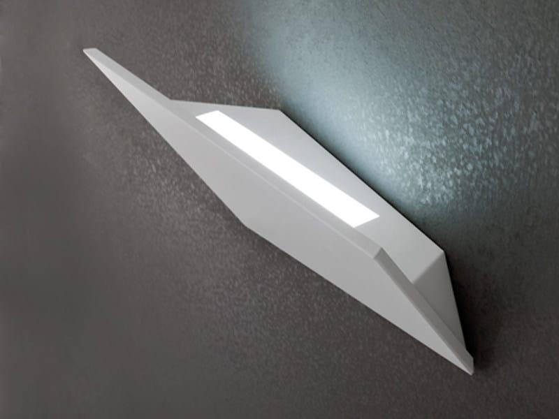Aluminium wall light VERSO - LUCENTE - Gruppo Rostirolla