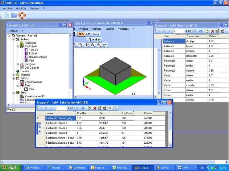 Valutazione immobiliare ed estimo STIME 3D - COINTEC