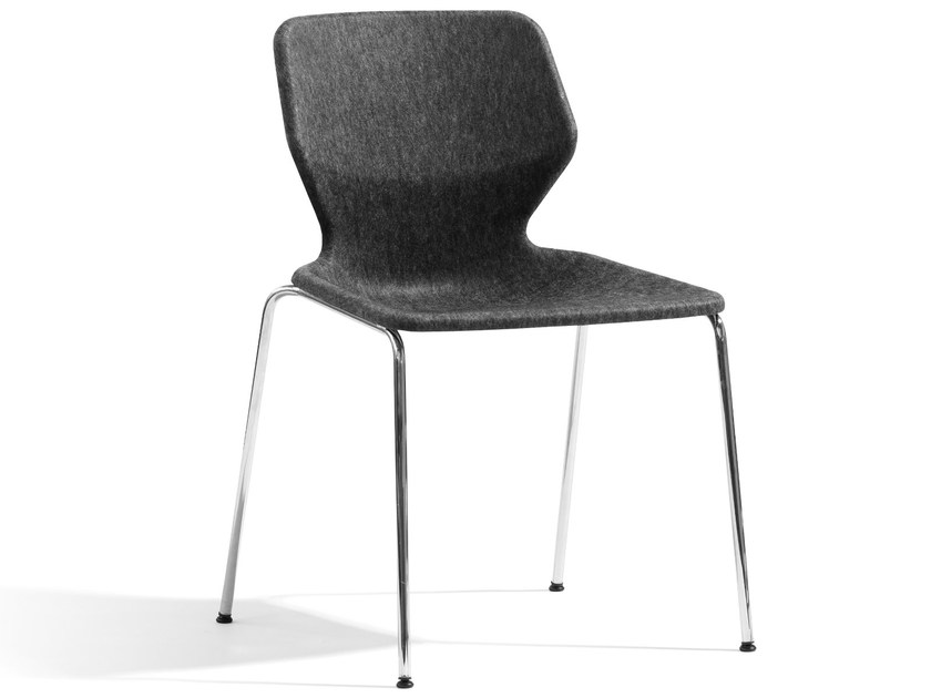 Stackable fabric chair BOO | Fabric chair - Blå Station