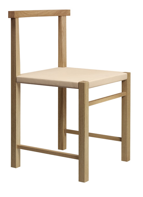 Wooden chair KARNAK - e15