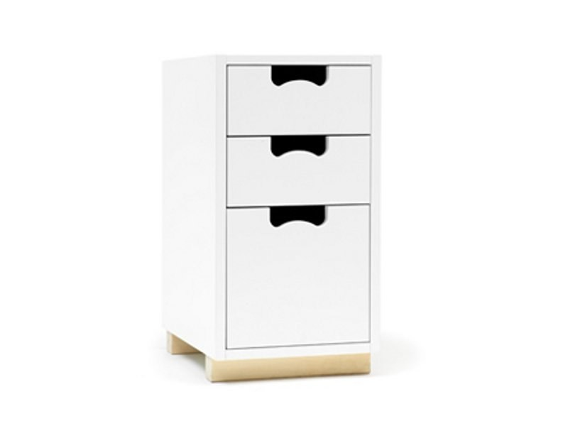 Free standing modular chest of drawers SNOW G | Chest of drawers - ASPLUND