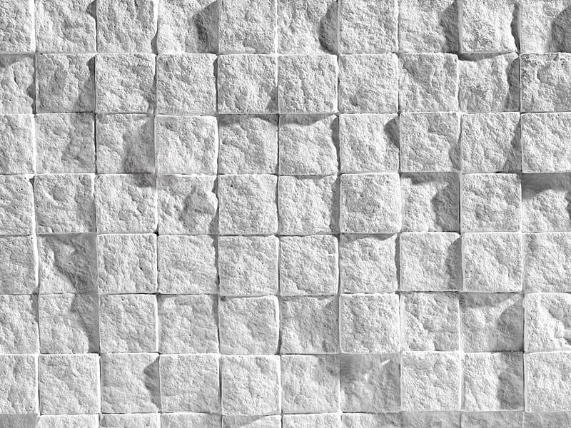 Rivestimento tridimensionale in pietra ricostruita per interni ...