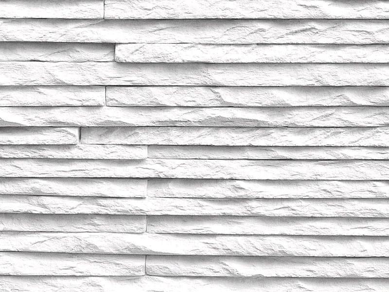 Rivestimento tridimensionale in pietra ricostruita per interni MONTE BIANCO -...