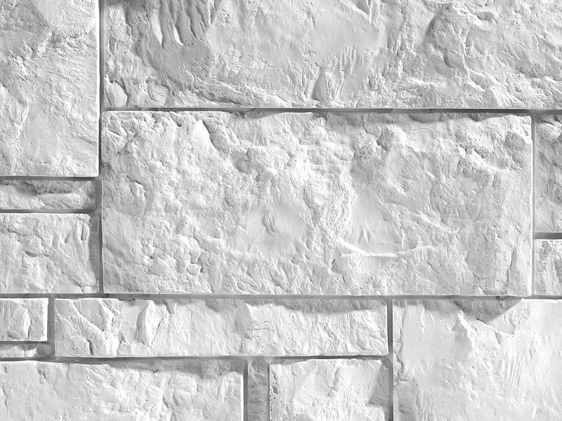 Rivestimento tridimensionale in pietra ricostruita per ...